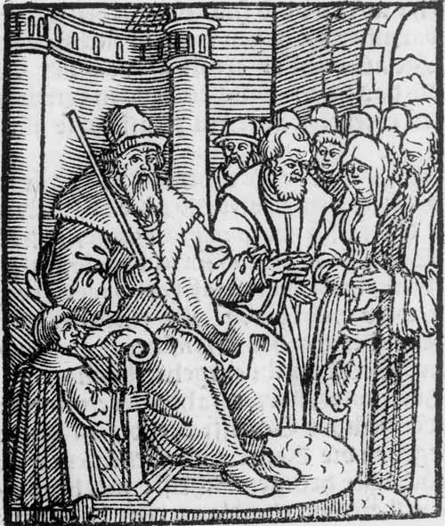 Gerichtsszene, 1563