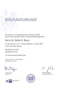 2020 - 2025 IHK FFM MFW